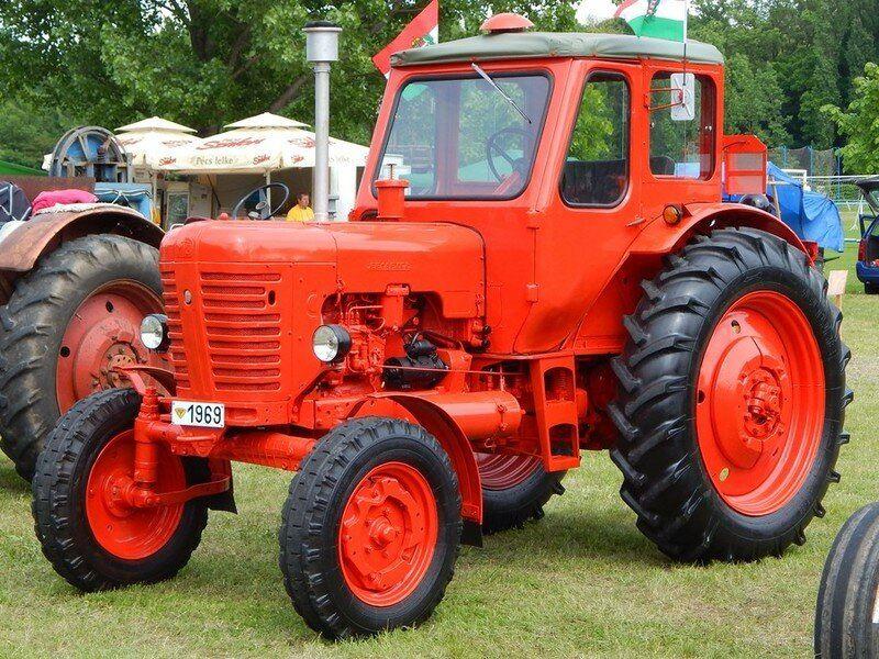 МТЗ 50 белорусский трактор