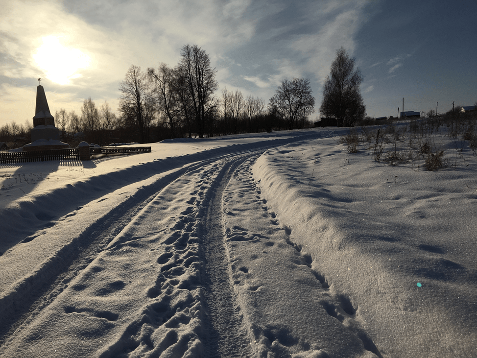 Фото деревни Сурки Гагинского Района